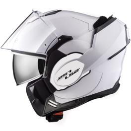 KASK LS2 FF399 VALIANT WHITE XL - szczęka 180 st