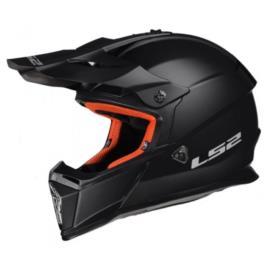 KASK LS2 ENDURO MX437 FAST SOLID MATT BLACK ROZM L